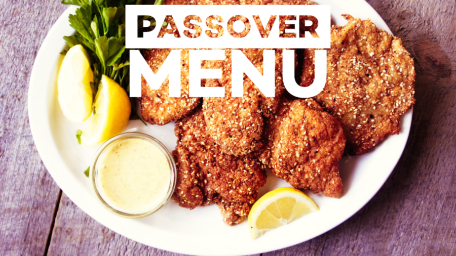 Passover Menu