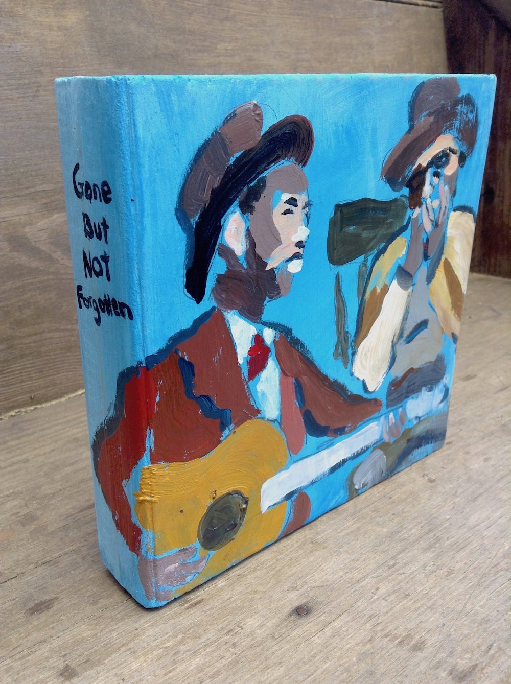 brownie mcgee and sonny terry bull city bluesmen art