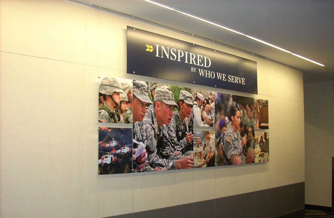Interior Cable Suspension Displays