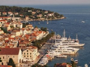 top 10 must places to visit in croatia and montenegro - Hvar Island in Croatia