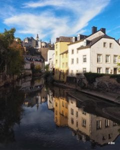 Wenzel Route, Luxembourg City