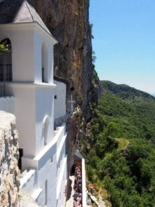 top 10 must places to visit in croatia and montenegro - The Monastery of Ostrog -Montenegro