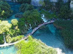 top 10 must places to visit in croatia and montenegro - Plitviče Lakes National Park in Croatia