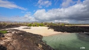 One of the uninhabited islands in the Galapgos