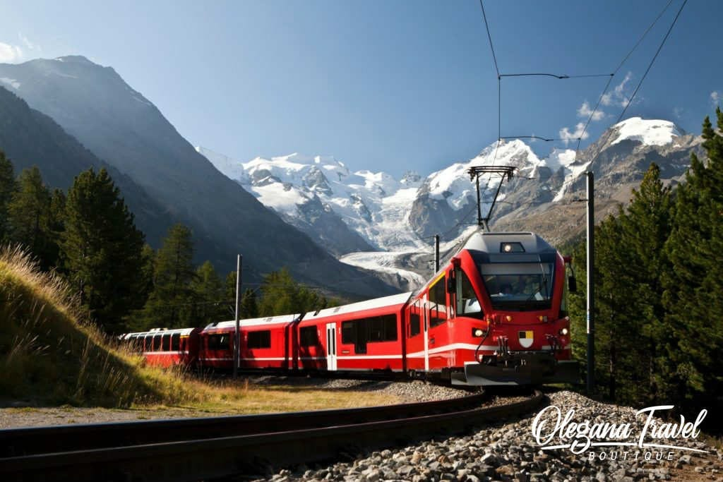 Bernina Express, Scenic Train Experience in Switzerland