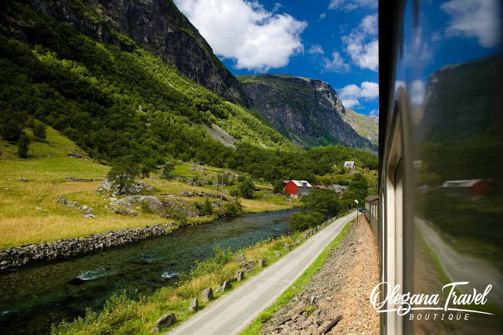 Train Flam to Myrdal through Norway Fjords