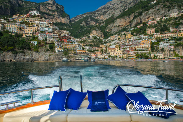 Take a relaxing boat ride on the Amalfi Coast - The Amalfi Coast in Italy is one of the most scenic places to visit in Europe. Skip the crowds and experience this coast as the locals do.