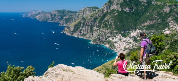 The Amalfi Coast in Italy is one of the most scenic places to visit in Europe. Skip the crowds and experience this coast as the locals do. This is every hikers dream scene! The Paths of Gods hike