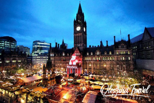 the Best Christmas Markets in Europe - Manchester Christmas Market
