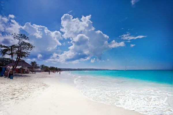 Seven-Mile Beach in Negril, Jamaica