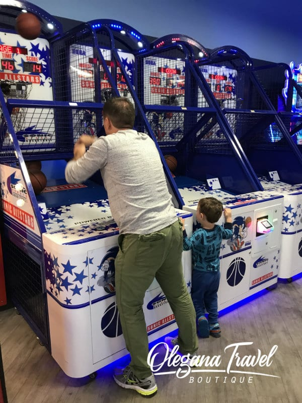 Kalahari Arcade - My Boys Are Having Fun