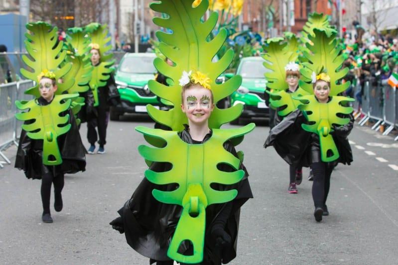 Dublin, Ireland - St Patrik's Festival Parade