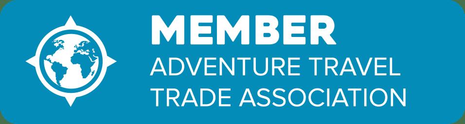 Logo indicating membership in Adventure Travel Trade Association