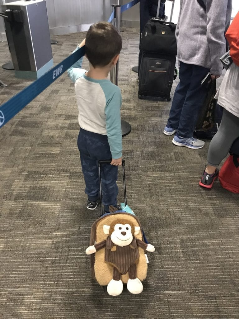 Tips for making traveling with kids less stressful