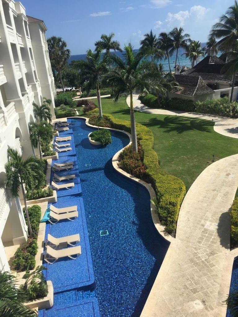 Swim up rooms at Hyatt Zilara Rose Hall Resort