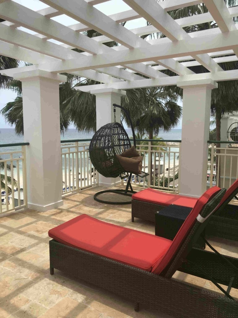 Rooftop of a 3 story villa at Jewel Grande Montego Bay, Jamaica