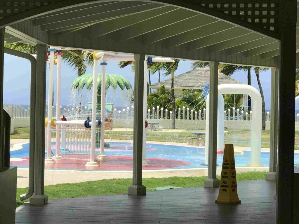 Splash Pad at Moon Palace Jamaica