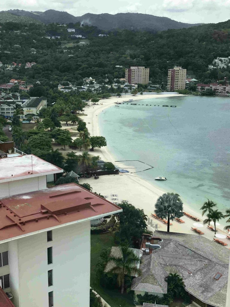 The View of the Beach at Moon Palace Jamaica