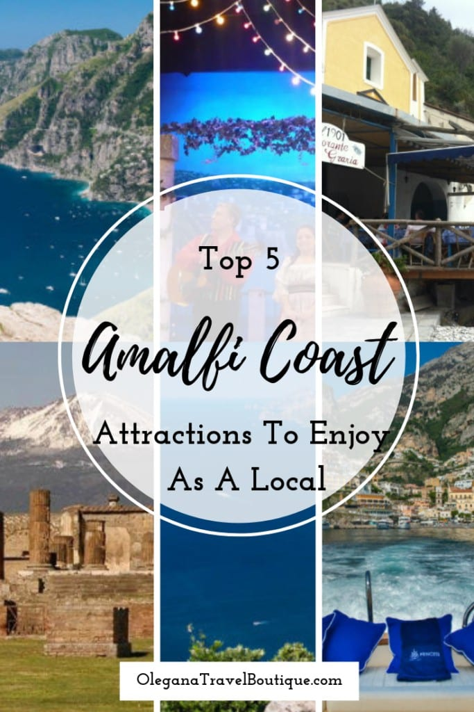 Top 5 Things To Do In The Amalfi Coast As A Local