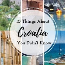 10 Things You Didn't Know About Croatia