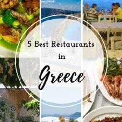 5 Best Restaurants in Greece