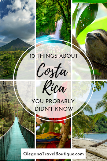top 10 facts about costa rica