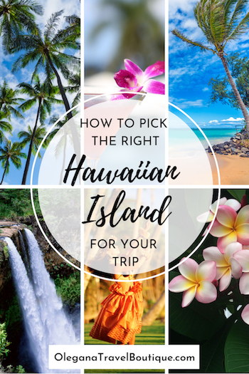 the best hawaii island for a family vacation - six images of hawaii islands