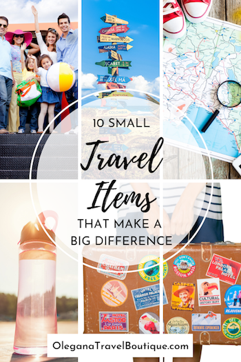 10 Small Travel Items That Make a Big Difference