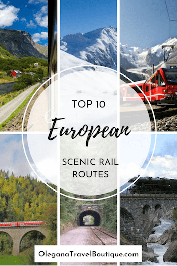 Top 10 Scenic Rail Routes in Europe
