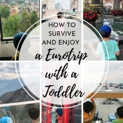 Tips for traveling to Europe with kids, toddlers, as a family, stress-free vacation.