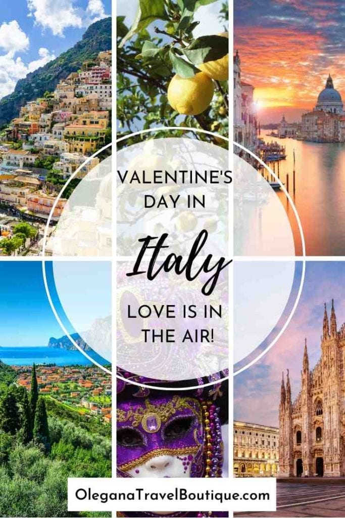 A romantic Valentine's Day getaway to Italy, castle hotel vacation.