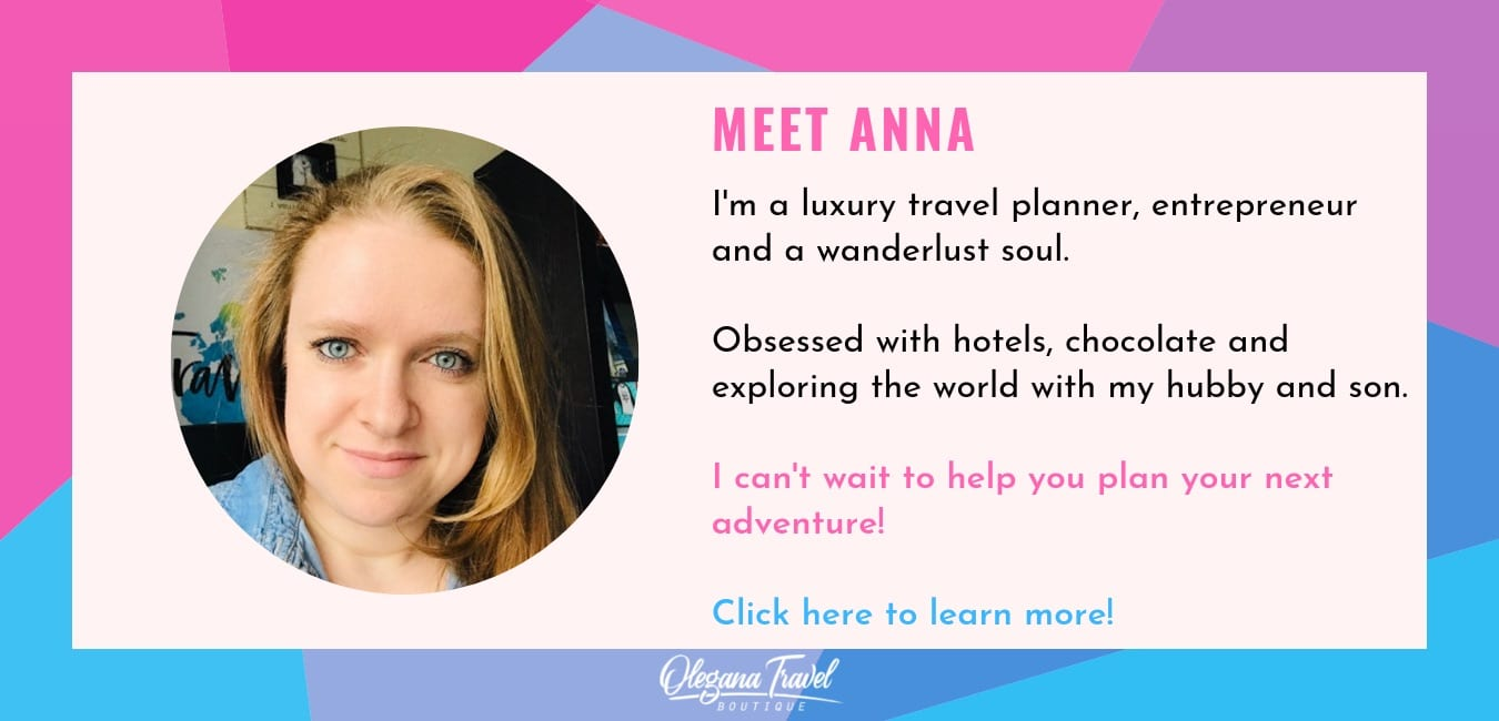 image of owner of Olegana Travel boutique, Anna Fishman.