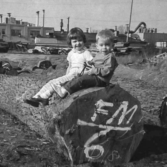 Frank Miller Lumber History - Susan and Bob