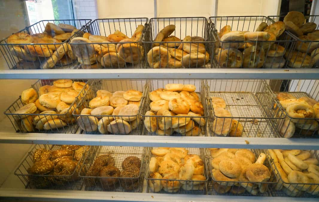 Different kinds of Bagel
