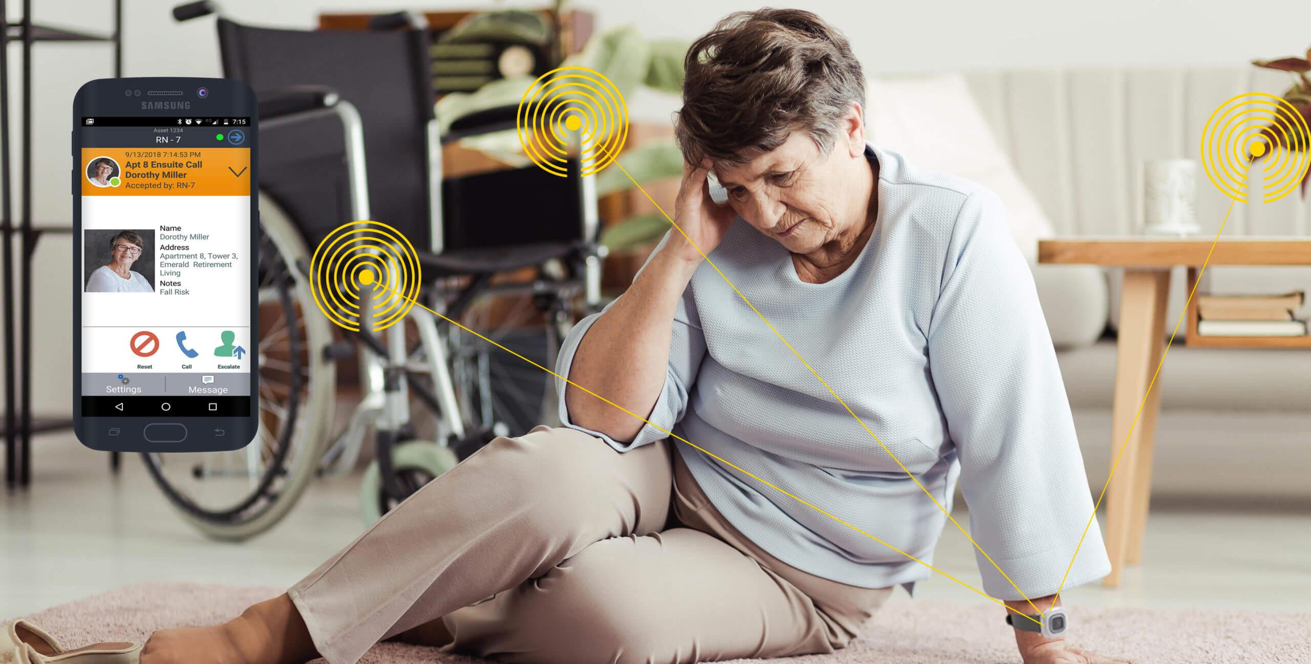 Wireless Nurse Call Transmission