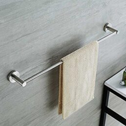 Towel Rod Hanger Concealed wall mounted Stainless Steel All Size Available