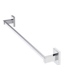 Salonica Square Towel Rod wall mounted Stainless Steel All Size Available