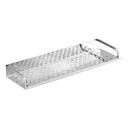 Make In India Bath Over The Mirror Shelves Stainless Steel For Bathroom & Kitchen 16 Inch
