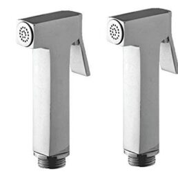 Square Brass Health Faucet Head Chrome Plated – Pack of 2