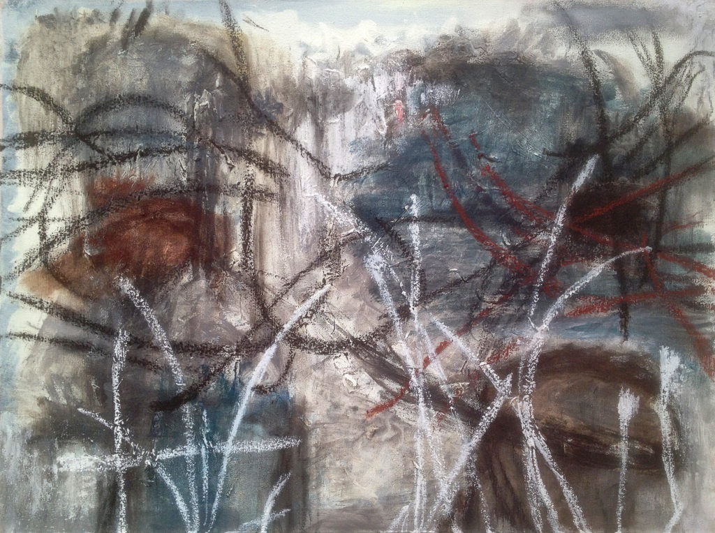 """Scatter from this Encampment, 23""""x31"""""""