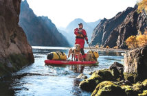 Plan a backcountry standup paddleboard Trip. Credit Peter Holcombe.