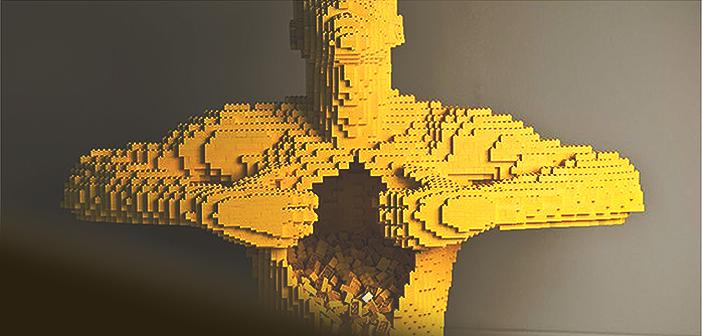 The incredible art in Lego by Nathan Sawaya.