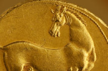 Horses, Rulers and Victory in the art of Ancient Greek coinage. Image Credit: Kallos Gallery, London, UK.