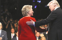 Hillary Clinton and Donald Trump second Presidential Debate.