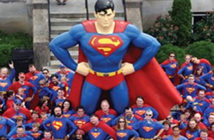 """Metropolis, Illinois, the official """"Home of Superman"""""""