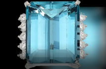 The French do it better. Aquamarine, Diamond, White Gold Ring, Cartier.