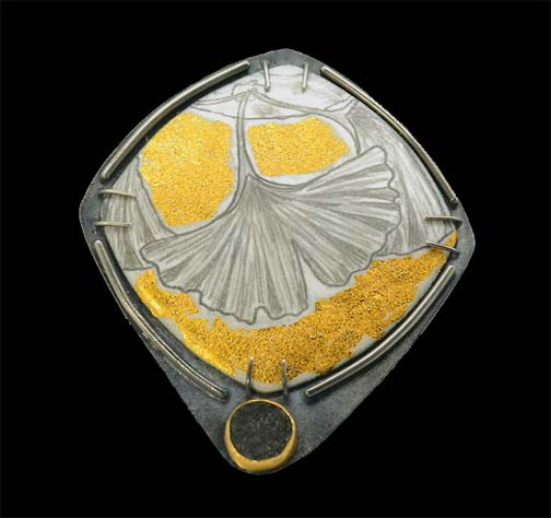 Enameling is considered the most intricate and difficult of all jewelry techniques. Image Credits Lara Ginzburg.