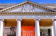 A Four Centuries' History - The Museum exhibit all day's life of New Yorkers. Image Credit: MOCNY, 2017.