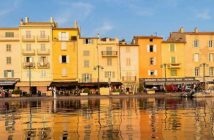 Cote d'Azur -- Port of St. Tropez, France. Image CRedit: Macca Sherifi, 2017.