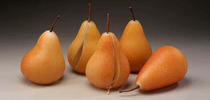 "Stephanie Chubbuck - figurative fruit combines visual elements drawn from Dutch ""Vanitas"" still life painting."